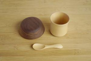 Baby bowl (walnut tree)