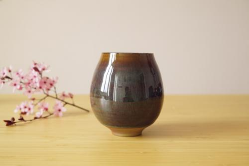 Fragrant cup (Brown Blue  / L)