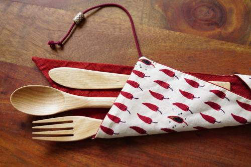 Craft wooden cutlery