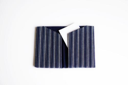 Card case (fine stripes)