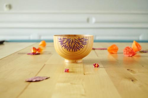 Wooden bowl Shiran